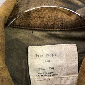 Free People Jackets & Coats - Free People Follow Your Heart Utility Jacket M